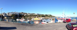 It was a very Sunny Day at the Harbor in Ballycotton