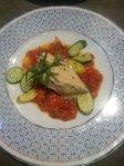 Chicken Breast with Tomato Fondue