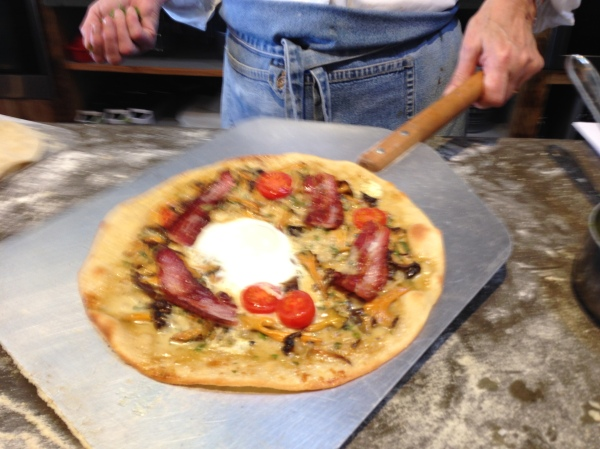 Irish Traditional Breakfast Pizza