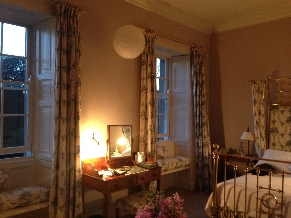 THE GREY ROOM AT THE BALLYMALOE HOUSE FOR THE WEEKEND BELONGED TO ME