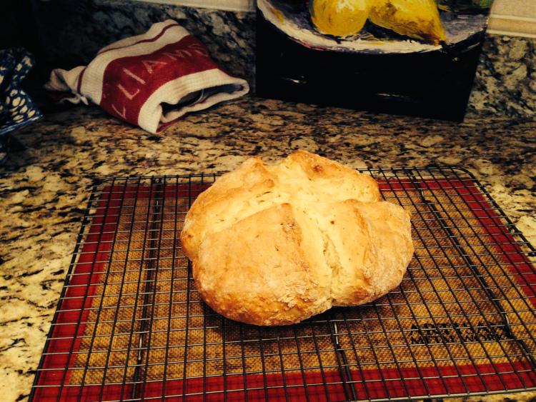Fresh Baked Irish Soda Bread